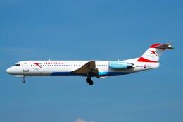 ちっとろむさんが、フランクフルト国際空港で撮影したオーストリア航空 100の航空フォト(飛行機 写真・画像)