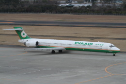 プルシアンブルーさんが、仙台空港で撮影したエバー航空 MD-90-30の航空フォト(飛行機 写真・画像)