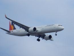 commet7575さんが、福岡空港で撮影したフィリピン航空 A321-271Nの航空フォト(飛行機 写真・画像)