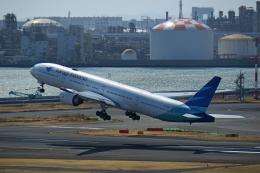 Souma2005さんが、羽田空港で撮影したガルーダ・インドネシア航空 777-3U3/ERの航空フォト(飛行機 写真・画像)