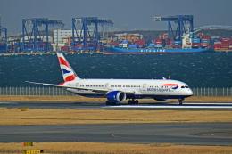 Souma2005さんが、羽田空港で撮影したブリティッシュ・エアウェイズ 787-9の航空フォト(飛行機 写真・画像)