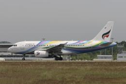 ☆H・I・J☆さんが、関西国際空港で撮影したバンコクエアウェイズ A319-132の航空フォト(飛行機 写真・画像)