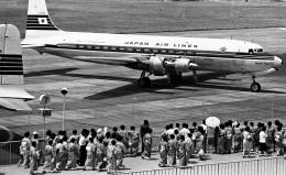 Y.Todaさんが、羽田空港で撮影した日本航空 DC-6Bの航空フォト(飛行機 写真・画像)