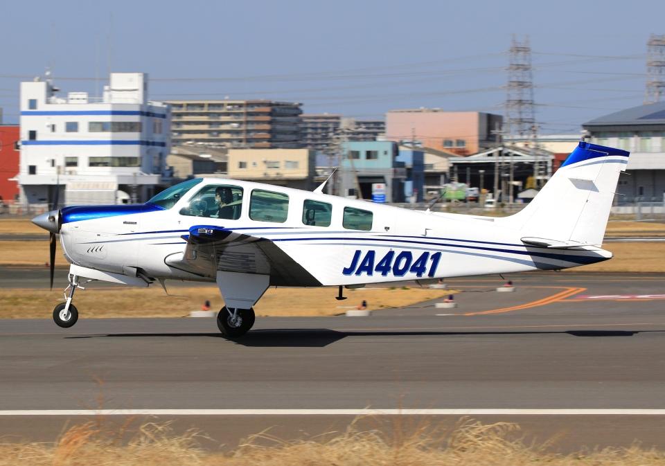 LOTUSさんの日本個人所有 Beechcraft 36 Bonanza (JA4041) 航空フォト
