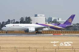 tassさんが、成田国際空港で撮影したタイ国際航空 A350-941の航空フォト(飛行機 写真・画像)