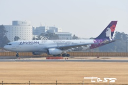 tassさんが、成田国際空港で撮影したハワイアン航空 A330-243の航空フォト(飛行機 写真・画像)