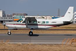 A.Tさんが、八尾空港で撮影した朝日航空 208 Caravan Iの航空フォト(飛行機 写真・画像)