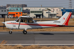 A.Tさんが、八尾空港で撮影した朝日航空 172S Skyhawk SP IIの航空フォト(飛行機 写真・画像)