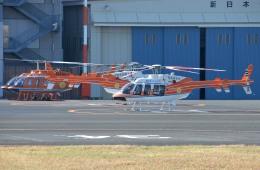 IL-18さんが、東京ヘリポートで撮影したベルヘリコプター 407GXiの航空フォト(飛行機 写真・画像)