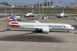 Echo-Kiloさんが、羽田空港で撮影したアメリカン航空 787-9の航空フォト(飛行機 写真・画像)