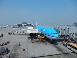 kiyo hさんが、香港国際空港で撮影したKLMオランダ航空 777-206/ERの航空フォト(飛行機 写真・画像)