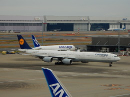 kiyo hさんが、羽田空港で撮影したルフトハンザドイツ航空 A340-642の航空フォト(飛行機 写真・画像)