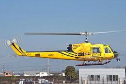 NIKKOREX Fさんが、群馬ヘリポートで撮影したアカギヘリコプター 204B-2(FujiBell)の航空フォト(飛行機 写真・画像)