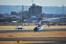 MSN/PFさんが、名古屋飛行場で撮影した中日新聞社 BK117C-2の航空フォト(飛行機 写真・画像)
