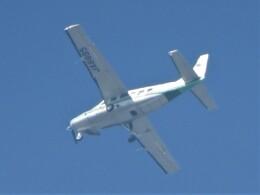 いねねさんが、名古屋飛行場で撮影した共立航空撮影 208 Caravan Iの航空フォト(飛行機 写真・画像)