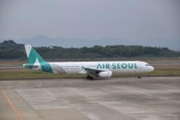bachi51さんが、長崎空港で撮影したエアソウル A321-231の航空フォト(飛行機 写真・画像)