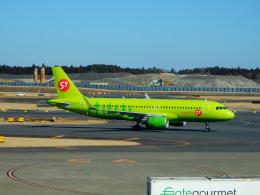 kiyo hさんが、成田国際空港で撮影したS7航空 A320-214の航空フォト(飛行機 写真・画像)