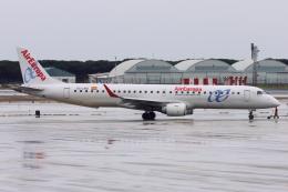 kinsanさんが、バルセロナ空港で撮影したエア・ヨーロッパ ERJ-190-200 LR (ERJ-195LR)の航空フォト(飛行機 写真・画像)