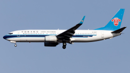 Shotaroさんが、上海浦東国際空港で撮影した中国南方航空 737-81Bの航空フォト(飛行機 写真・画像)