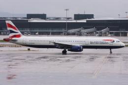 kinsanさんが、バルセロナ空港で撮影したブリティッシュ・エアウェイズ A321-231の航空フォト(飛行機 写真・画像)