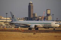 zibaさんが、成田国際空港で撮影したZIPAIR 787-8 Dreamlinerの航空フォト(飛行機 写真・画像)