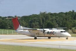 Mr.boneさんが、南大東空港で撮影した琉球エアーコミューター DHC-8-314 Dash 8の航空フォト(飛行機 写真・画像)