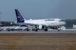 gomaさんが、ミュンヘン・フランツヨーゼフシュトラウス空港で撮影したルフトハンザ・シティライン A319-114の航空フォト(飛行機 写真・画像)