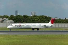Gambardierさんが、伊丹空港で撮影した日本航空 MD-81 (DC-9-81)の航空フォト(飛行機 写真・画像)