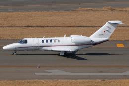 きんめいさんが、中部国際空港で撮影した国土交通省 航空局 525C Citation CJ4の航空フォト(飛行機 写真・画像)