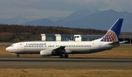 にしやんさんが、新千歳空港で撮影したコンチネンタル航空 737-824の航空フォト(飛行機 写真・画像)
