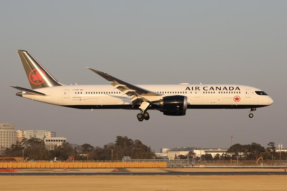 sky-spotterさんのエア・カナダ Boeing 787-9 (C-FVNF) 航空フォト