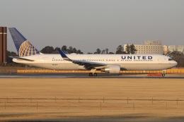 sky-spotterさんが、成田国際空港で撮影したユナイテッド航空 767-322/ERの航空フォト(飛行機 写真・画像)