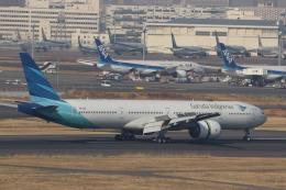 imosaさんが、羽田空港で撮影したガルーダ・インドネシア航空 777-3U3/ERの航空フォト(飛行機 写真・画像)