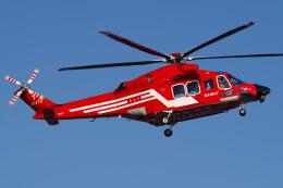 さんごーさんが、東京ヘリポートで撮影した東京消防庁航空隊 AW139の航空フォト(飛行機 写真・画像)