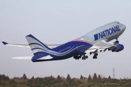 HADAさんが、成田国際空港で撮影したナショナル・エアラインズ 747-428(BCF)の航空フォト(飛行機 写真・画像)