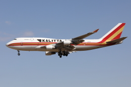 HADAさんが、成田国際空港で撮影したカリッタ エア 747-4B5(BCF)の航空フォト(飛行機 写真・画像)