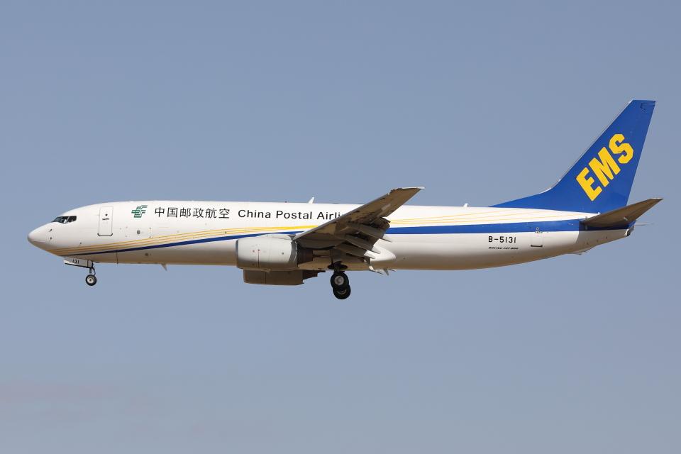 HADAさんの中国郵政航空 Boeing 737-800 (B-5131) 航空フォト
