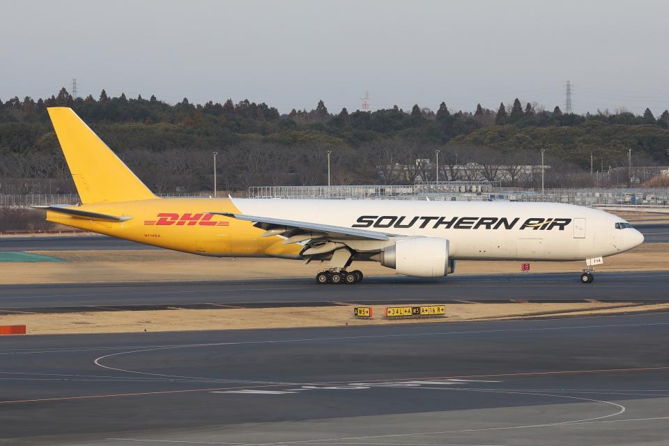 HADAさんのサザン・エア Boeing 777-200 (N714SA) 航空フォト