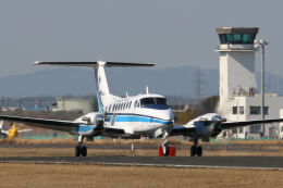 jji55さんが、岡南飛行場で撮影した海上保安庁 King Air 350C (B300C)の航空フォト(飛行機 写真・画像)