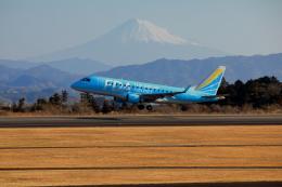 Judy1009さんが、静岡空港で撮影したフジドリームエアラインズ ERJ-170-100 (ERJ-170STD)の航空フォト(飛行機 写真・画像)