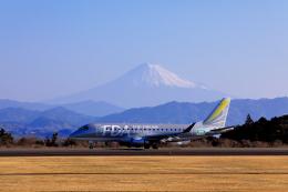 Judy1009さんが、静岡空港で撮影したフジドリームエアラインズ ERJ-170-200 (ERJ-175STD)の航空フォト(飛行機 写真・画像)
