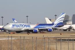 m_aereo_iさんが、成田国際空港で撮影したナショナル・エアラインズ 747-428(BCF)の航空フォト(飛行機 写真・画像)