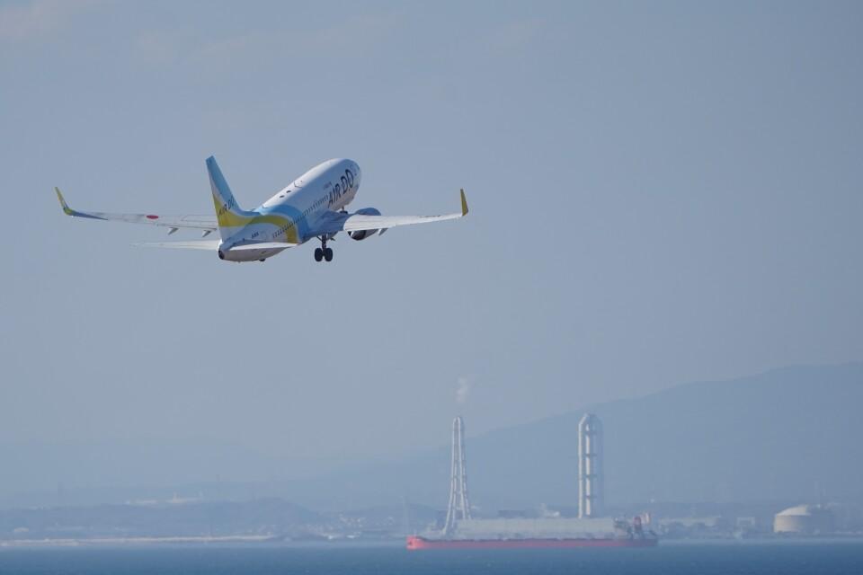 土岐のjunkoさんのAIR DO Boeing 737-700 (JA11AN) 航空フォト