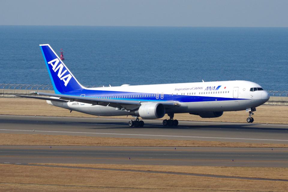 yabyanさんの全日空 Boeing 767-300 (JA607A) 航空フォト