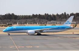 050813さんが、成田国際空港で撮影したKLMオランダ航空 787-9の航空フォト(飛行機 写真・画像)