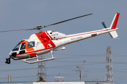 A.Tさんが、八尾空港で撮影した朝日航洋 AS355F2 Ecureuil 2の航空フォト(飛行機 写真・画像)