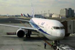 Hiro-hiroさんが、羽田空港で撮影したエアージャパン 767-381/ERの航空フォト(飛行機 写真・画像)