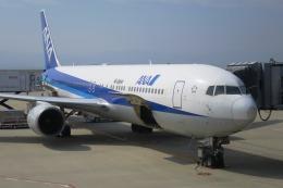 Hiro-hiroさんが、関西国際空港で撮影したエアージャパン 767-381/ERの航空フォト(飛行機 写真・画像)