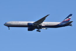 N.tomoさんが、成田国際空港で撮影したアエロフロート・ロシア航空 777-3M0/ERの航空フォト(飛行機 写真・画像)