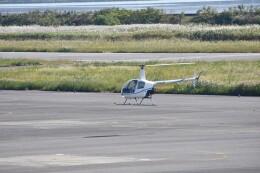 ヨッシさんが、岡南飛行場で撮影した学校法人ヒラタ学園 航空事業本部 R22 Beta IIの航空フォト(飛行機 写真・画像)